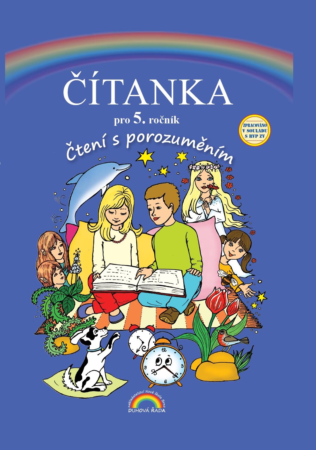 55-65 55-60 Český jazyk 5 – pracovní sešit, Čtení s porozuměním