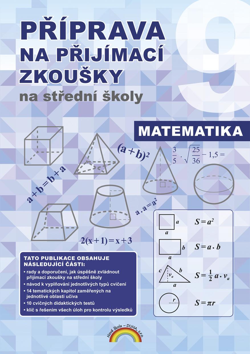 Příprava na přijímací zkoušky na střední školy Matematika